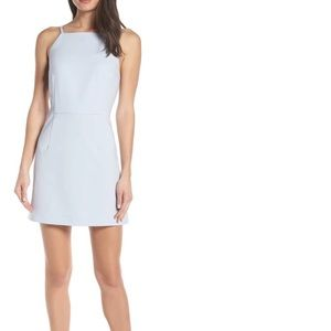 Light blue French Connection mini dress!